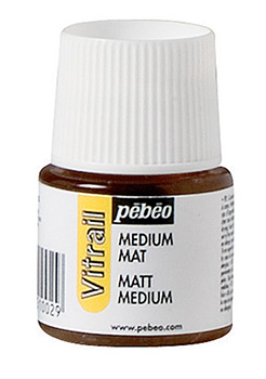 Pébéo Vitrail Medium Matné, 45ml