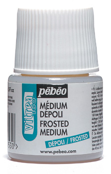 Pebeo Vitrea 160 Frosted Médium - 45 ml
