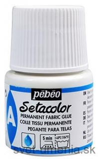 Pebeo Setacolor permanentné lepidlo, 45 ml.