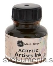 Atrament Manuscript, 30 ml - sépia